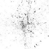 Zwarte Dalingen van Inkt of Verf slordige Achtergrond stock illustratie