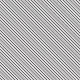 Zwarte diagonale lijnen Gestreept behang symmetrisch lineair ornament met dikke en tandlijn Strepenmotief stock illustratie