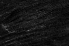 Zwarte die de textuurachtergrond van het steenpatroon, van echte echte steen van aard wordt gedetailleerd Stock Foto