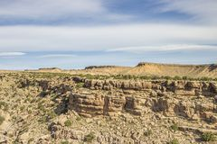 Zwarte diepe de rotsenvorming van Dragon Canyon Stock Foto