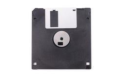 Zwarte diskette Royalty-vrije Stock Afbeeldingen