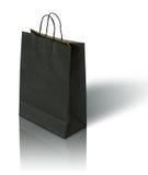 Zwarte document zak stock afbeelding