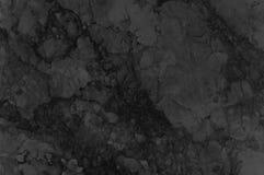 Zwarte of donkere grijze marmeren textuur Marmeren aardpatroon Royalty-vrije Stock Foto