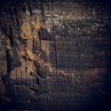 Zwarte donkere houten achtergrond, de houten oppervlakte van de raads ruwe korrel Stock Afbeelding
