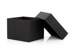 Zwarte doos Royalty-vrije Stock Fotografie