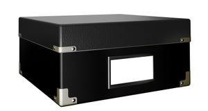 Zwarte doos Royalty-vrije Stock Afbeeldingen