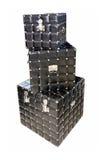 Zwarte dozen Royalty-vrije Stock Fotografie