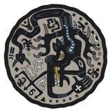 Zwarte draak Stock Afbeelding