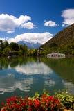 Zwarte draakPool van Lijiang Royalty-vrije Stock Foto's