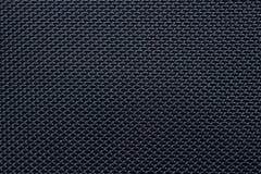 Zwarte duidelijke stof Stock Foto's