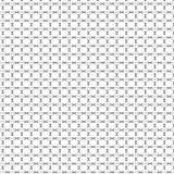 Zwarte dwars het patroonachtergrond van het tekennet Stock Fotografie