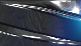 Zwarte en Blauwe Plastic Textuur stock illustratie