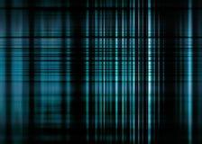 Zwarte en blauwe vage lijnenachtergrond Royalty-vrije Stock Afbeelding