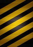 Zwarte en gele achtergrond Royalty-vrije Stock Fotografie