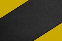 Zwarte en gele textur Royalty-vrije Stock Afbeelding