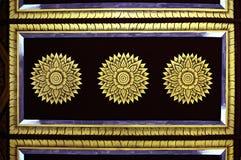 Zwarte en goud Royalty-vrije Stock Foto's