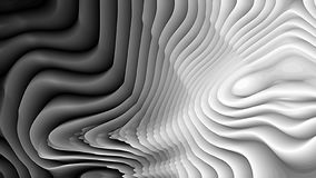 Zwarte en Grey Curve Texture vector illustratie
