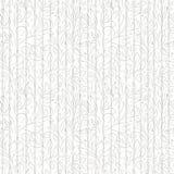 Zwarte en grijze contouren van abstracte bloemen en bladeren op witte achtergrond vector illustratie