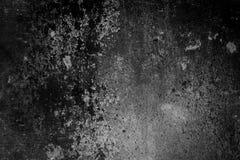 Zwarte en grijze muuroppervlakte in grungestijl Gestormde samenvatting, Sc stock afbeelding
