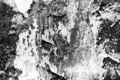 Zwarte en grijze muuroppervlakte in grungestijl Gestormde samenvatting, Sc royalty-vrije stock foto's