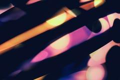 Zwarte en kleuren abstracte achtergrond Stock Afbeelding