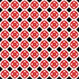 Zwarte en rode abstracte achtergrond stock foto's