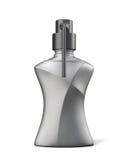 Zwarte fles gel, zeep of schuim royalty-vrije illustratie