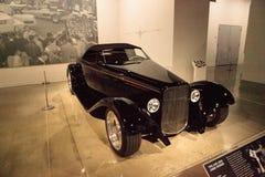 Zwarte 1932 Ford Roadster 0032 royalty-vrije stock foto's