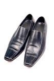Zwarte formele schoenen Royalty-vrije Stock Foto