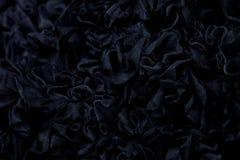 Zwarte geweven achtergrond Stock Foto's