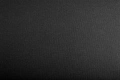 Zwarte geweven achtergrond Royalty-vrije Stock Fotografie