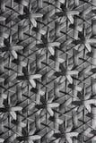 Zwarte geweven textuurachtergrond Stock Afbeelding