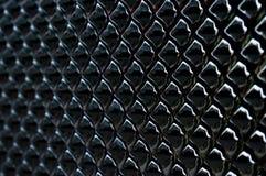 Zwarte glanzende draakschalen royalty-vrije stock foto's