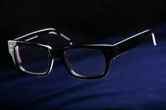Zwarte glazen Royalty-vrije Stock Foto