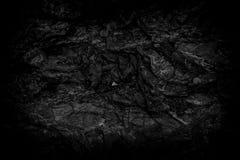 Zwarte grijze achtergrond of steen Royalty-vrije Stock Foto's