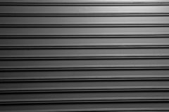 Zwarte grijze Rolling Staaldeuren Royalty-vrije Stock Foto