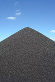 Zwarte grinthoop Stock Afbeeldingen