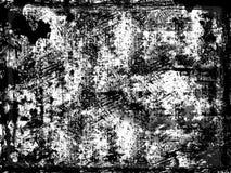 Zwarte grunge Royalty-vrije Stock Afbeelding