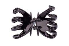 Zwarte haarspeld Stock Afbeelding