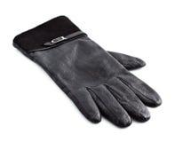Zwarte Handschoen Stock Afbeelding