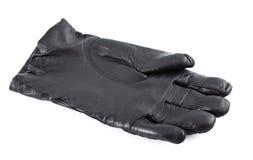 Zwarte Handschoen Royalty-vrije Stock Foto