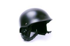 Zwarte helm Stock Foto