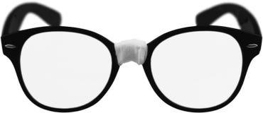 Zwarte het close-upmening van oogglazen stock afbeelding