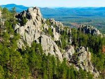 Zwarte Heuvels, Zuid-Dakota stock foto