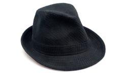 Zwarte hoed Stock Afbeelding