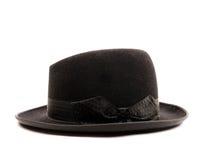 Zwarte hoed stock foto