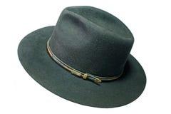 Zwarte hoed Royalty-vrije Stock Foto's