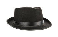 Zwarte hoed Royalty-vrije Stock Afbeelding