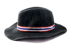 Zwarte hoed Royalty-vrije Stock Foto