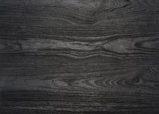 Zwarte houten korreloppervlakte Royalty-vrije Stock Fotografie